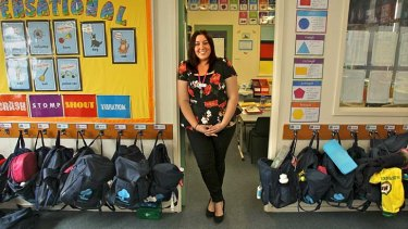 New teacher Kellie Davis wants to help the kids who 'slip through the cracks'. Ms Davis was part of a Monash program in which trainee teachers spent more time with children in class.