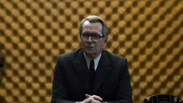 Grey matter &#8230; Gary Oldman, who chose the spectacles, as George Smiley in <em>Tinker Tailor Soldier Spy</em>.