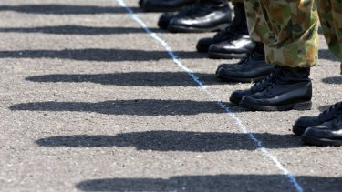 The Australian Defence Force Academy will again face questions over the conduct of its cadets after a male recruit was charged with filming a female colleague in the shower.