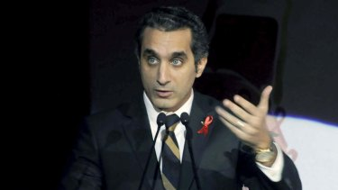 Bassem Youssef ... latest in a string of media figures subject legal complaints.