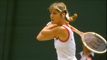 """Chris Evert: Connors questioned whether """"two number ones"""" could exist in the same family."""