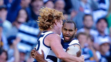 Cameron Ling, left, and Travis Varcoe.