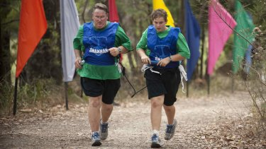 The Biggest Loser is now a family affair: Contestants Gerald Nester and 15-year-old son Todd.