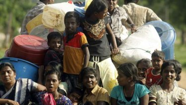 Tamils still face discrimination in Sri Lanka.