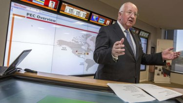 Rio chief executive Sam Walsh hails big data.