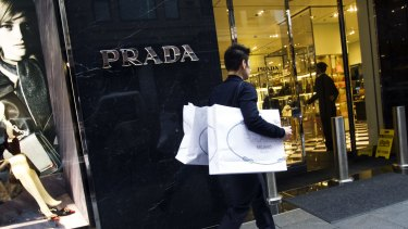 Prada has performed strongly in Australia over the past six years.