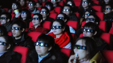Thought police: Beijing allows only 34 foreign films a year, all of which must pass close scrutiny to make sure they reflect conservative Chinese values.