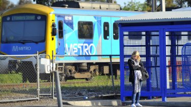 The number of passenger trips on Melbourne's trains dropped by almost 7 million last financial year.
