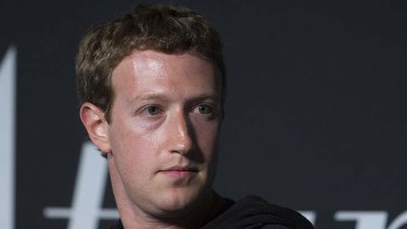 Mark Zuckerberg, founder and chief executive officer of Faceboo.