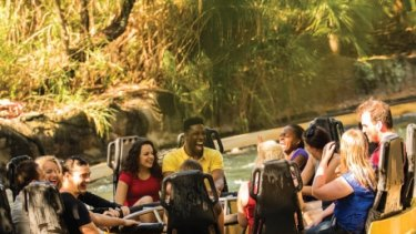 Busch Gardens, in Tampa Bay, temporarily closed its Congo River Rapids ride in the wake of the Dreamworld tragedy.