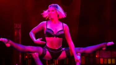 The raunchy <i>Empire</i> is a must see at the Spiegeltent in King George Square.