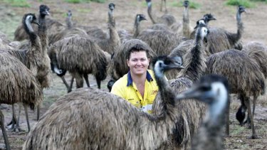 Stephen Schmidt recently added a range of emu meat to his family-owned 18-year-old Emu Heaven business.