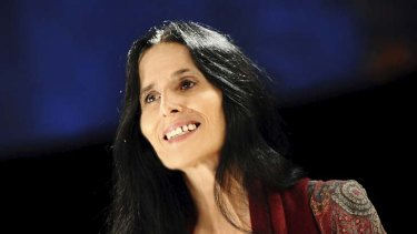 Bright light … Montserrat Figueras contributed two songs just months before her death.