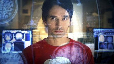 Challenges: Todd Sampson on his ABC show <i>Redesign My Brain</i>.