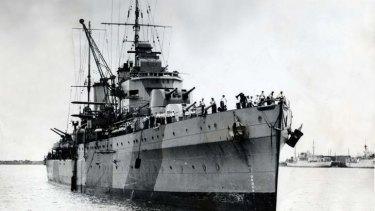 The HMAS Sydney.