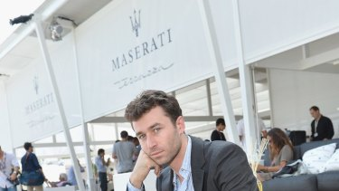 Less than impressed: Porn star James Deen did not enjoy eating at Opera Bar.