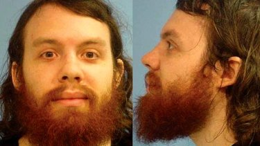 Mugshot: Andrew Auernheimer is seen in this police booking photograph taken by the Fayetteville, Arkansas Police Department.