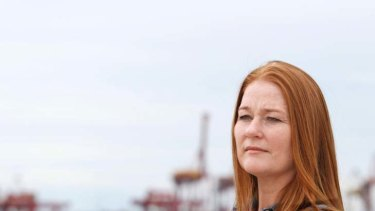 Targeted … Carole-Ann Britt says the abuse at Patrick's Port Botany facility included lewd comments, questions about her sex life, being exposed to pornography and a sexual assault.
