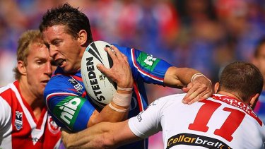 Kurt Gidley is staying with the Knights.
