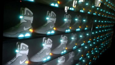 21315015bab Nike's Back to the Future shoes fetch up to $37,000