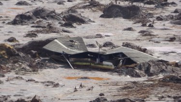 Samarco's Fundao tailings dam and the Santarem water dam failed on November 5, triggering a mudslide that killed at least 19 people.