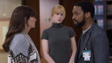 Julia Roberts, Nicole Kidman and Chiwetel Ejiofor star in the remake of <i>Secret in Their Eyes.</i>