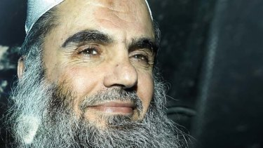 Negotiating with terrorists ... Al-Qaeda has offered to free British hostage Stephen Malcolm in exchange for the release of radical cleric Abu Qatada, pictured, by the British government.