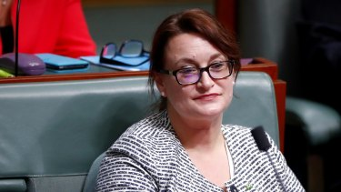 Labor MP Justine Keay during Question Time at Parliament House in Canberra.