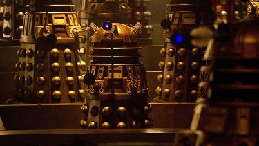The Doctor takes on the show's signature villains in <i>Asylum of the Daleks</i>.