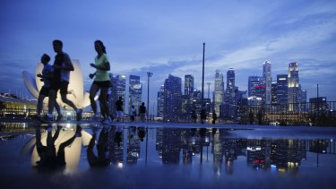 Thanks to Singapore's low tax rates and other tax incentives aimed at luring businesses, companies sent $55.1 billion to the island nation in 2013.