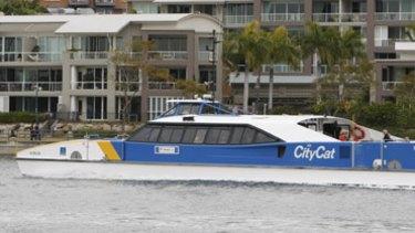 A Brisbane CityCat.