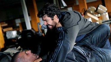 Physical ... Nader Hamdan, bottom, and Don Hany.