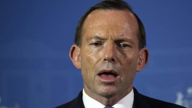 Prime Minister Tony Abbott: won't change the system of entitlements.