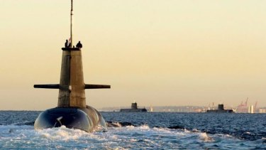 New vision: Defence Minister David Johnston will outline the government's plan for submarines to replace the ageing Collins Class fleet.