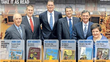 Premiers and their reading choices.
