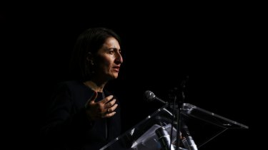 NSW Premier Gladys Berejiklian is under fire from her stablemate Malcolm Turnbull.