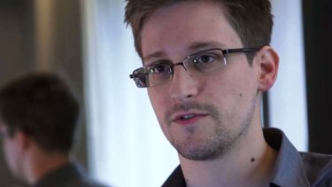 Putting the secret world back in the spotlight: Edward Snowden.