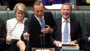 """""""The money that the Leader of the opposition ripped out, we are fully putting back"""": Prime Minister Tony Abbott."""