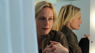 Harm's way ... Marta Dusseldorp is eager to return to theatre.