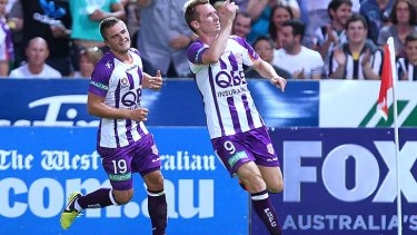 Shane Smeltz - amusing name and a nice couple of goals against Sydney FC on the weekend.