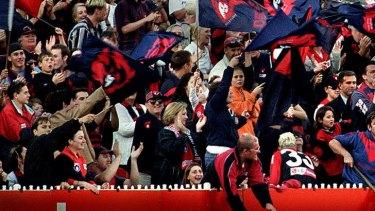 Long-suffering: Melbourne Demons fans.