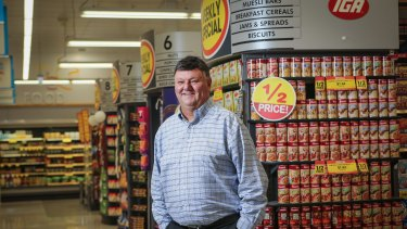 Ritchies chief Fred Harrison is confident shoppers want more than cut-price groceries.