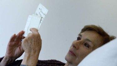 Philanthropist ... Sabina van der Linden-Wolanski.