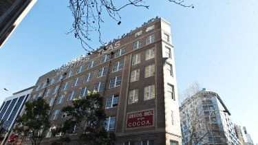 The Griffiths Tea building, in Sydney's Surry Hills, soon to be home to Chris Lucas's Chin Chin restaurant.