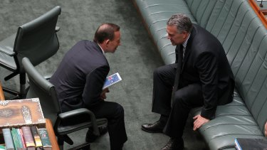 Tony Abbott told his ministers after the budget the Coalition was back on track with voters. That may have been a little premature according to recent polling.