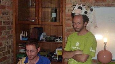 Grabble founders Stuart Argue, left, and Anthony Marcar.