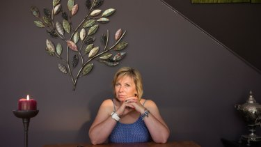 Rosie Batty in Melbourne earlier this month.