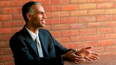 Mixed bag: Author and mathematics professor, Manil Suri.