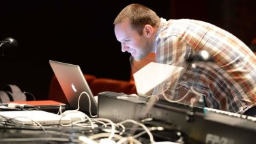 Musical director for <i>King Kong</i> Daniel Edmonds. Photo: James Morgan </i>