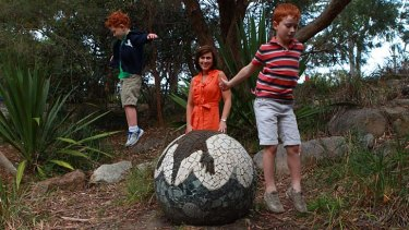 Screened rewards … Alison Rasheed with sons Fraser, 4, and Henry, 6.